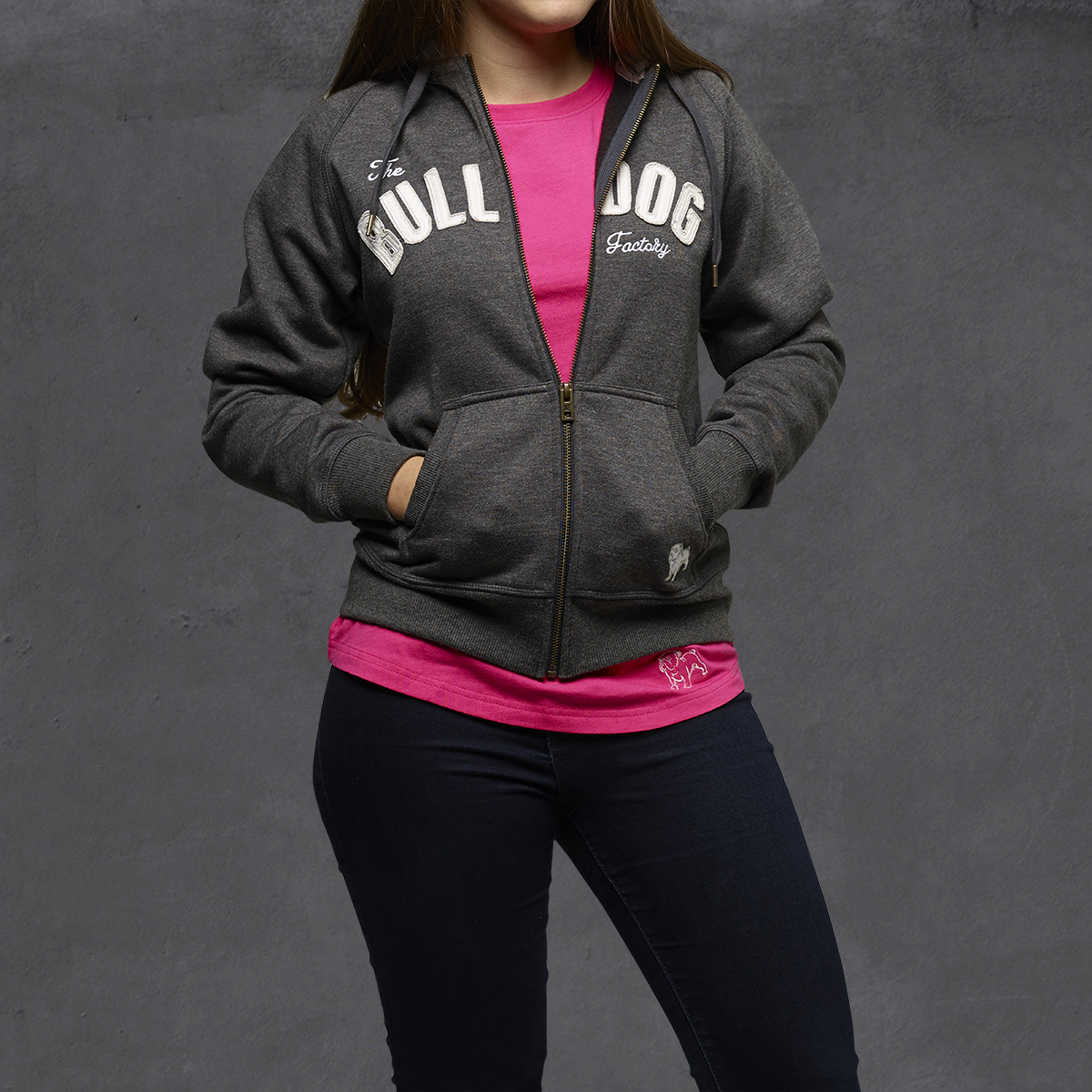 Girls Heritage Hoodies - Castle Rock