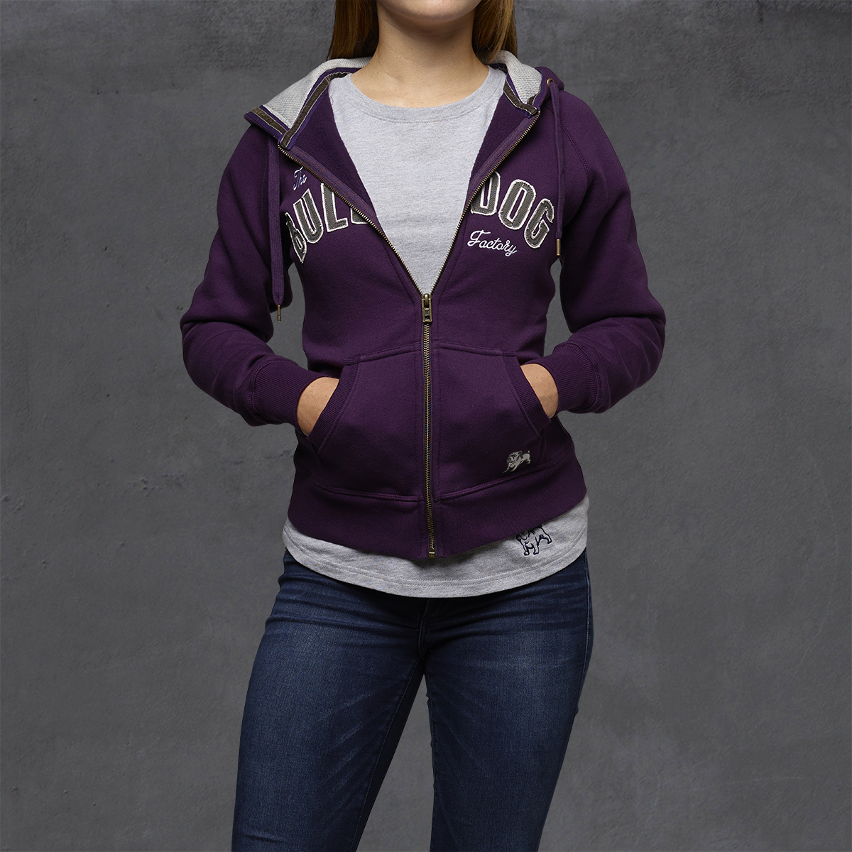 Girls Heritage Hoodies - Crown Jewel