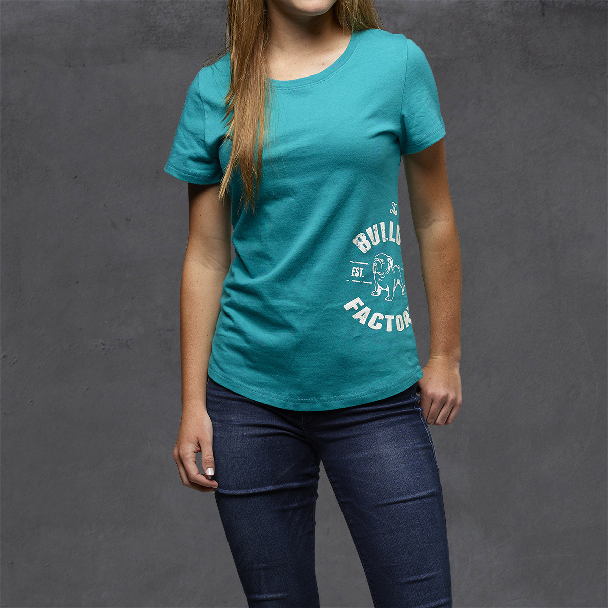 Girls Heritage Printed Ts - Ocean Depth