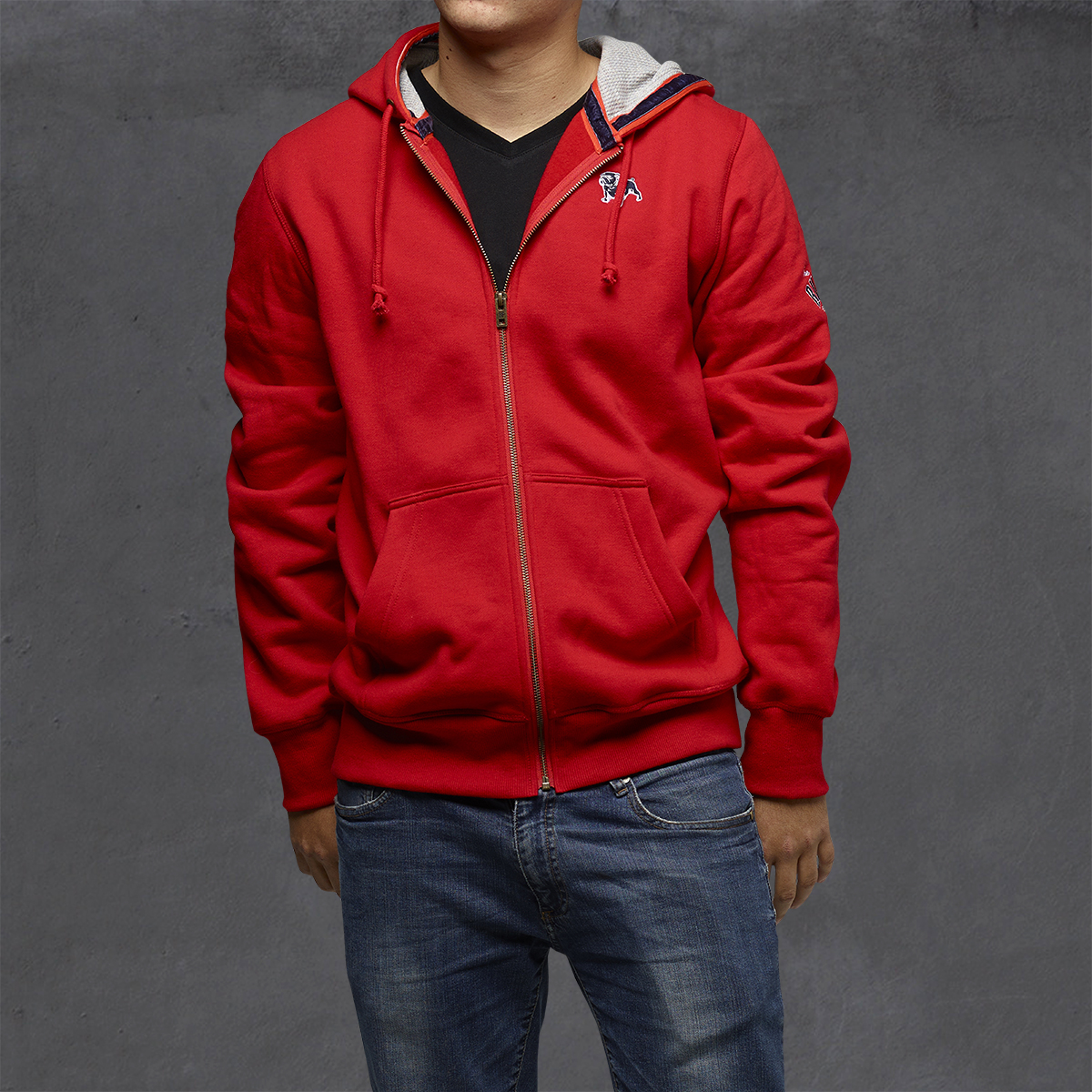 Guys Heritage Hoodies - Cherry Tomato