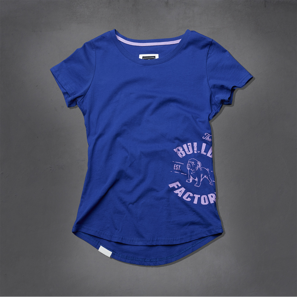 Girls Heritage Printed Ts - Dazzling Blue