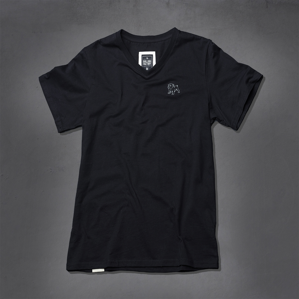Guys Heritage V-Neck Ts - Black