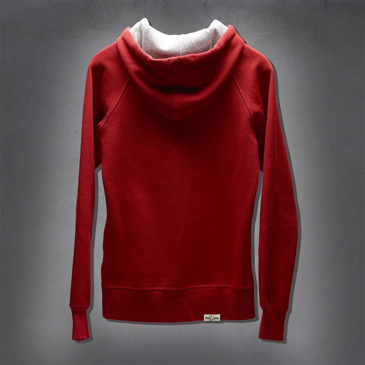 Girls Heritage Hoodies - Pompeian Red