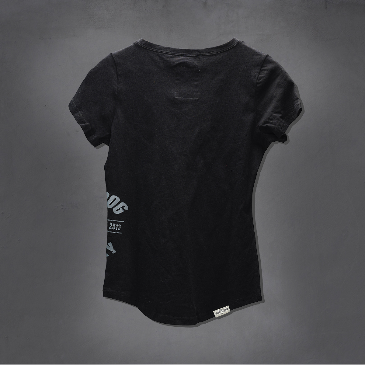 Girls Heritage Printed Ts - Black
